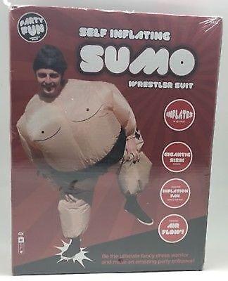 Aufblasbar Wrestling Sumo Cosplay Kostüm Fett Anzug Halloween Prty Kostüm