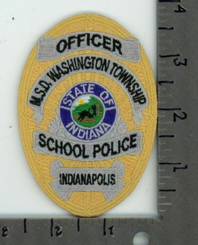 INDIANA IN MSD WASHINGTON TOWNSHIP SCHOOL POLICE OFFICER INDIANAPOLIS SHERIFF
