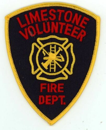 LIMESTONE TENNESSEE TN FIRE DEPARTMENT VOLUNTEER NEW PATCH RESCUE EMS