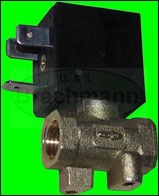 """Magnetventil 1/4"""" 12V - 230V Messing 24"""