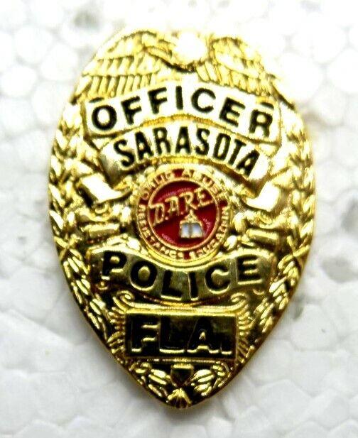 Sarasota Florida Police Officer DARE Hat / Lapel Pin