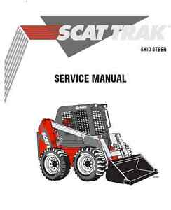 Scat Trak 1700C 1700CX 1800C 1800CX Service Manual