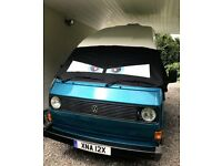 VW T25 Volkswagen, 1982, 1970 (cc) air cooled camper + awning + kit
