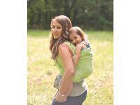 Cotton lightweight baby sling/carrier