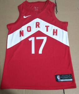 05c7babf4a52 BRAND NEW Jeremy Lin Raptors City OVO Red Basketball Jersey