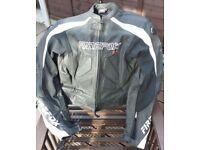 Firefox leather motorcycle jacket