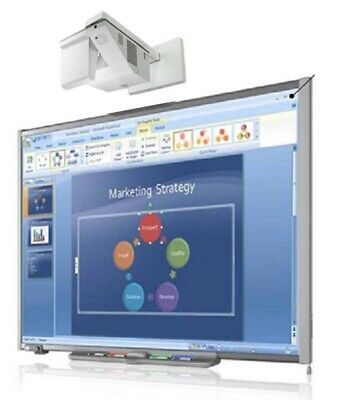 Interactive Smart Board Sb680 And Dell S500 Short Throw Projector