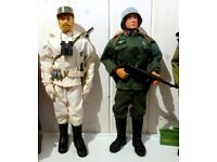 Wanted - old Action Men, Vehicles, Action Man uniforms and figures.