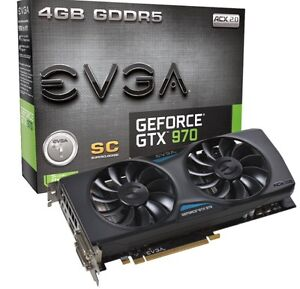 Brand New EVGA GTX 970 5GB GDDR5