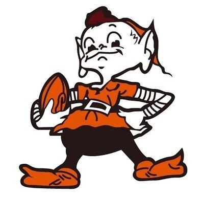 Cleveland Browns Brownie Elf Mascot 6