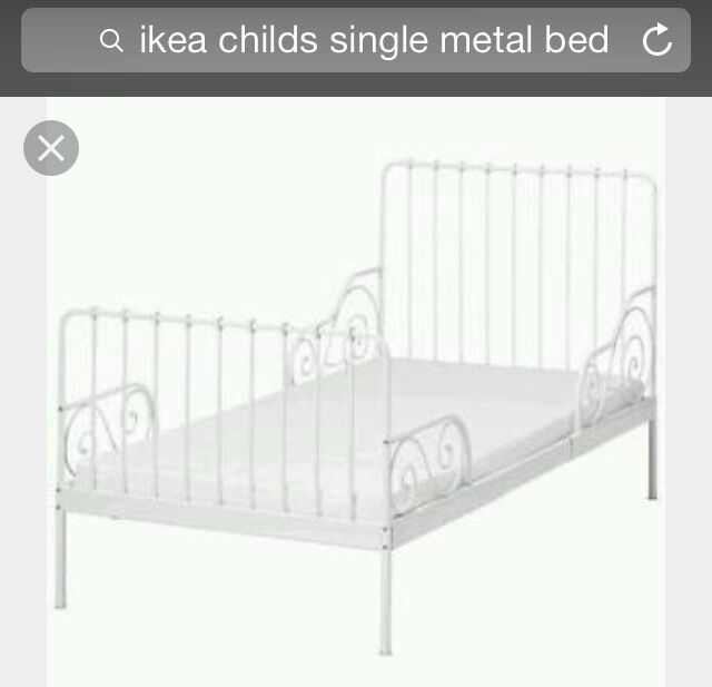 single bed frame ikea adjustable in white - Ikea Single Bed Frame
