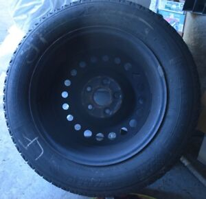 4 Michelin X-Ice Snow Tires mounted inch 16inch rims