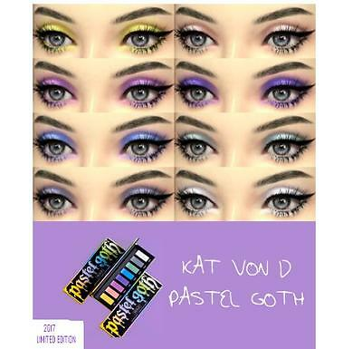 KAT VON D PASTEL GOTH EYESHADOW PALETTE NEW RELEASE LMTED EDTN ON HAND AUTHENTIC
