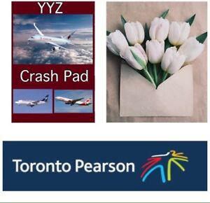 YYZ CrashPad For Airline Crew Space Available! July 1st.