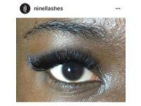 Mink Eyelash Extensions!!! Natural/Russians @ninellashes