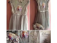 Official Disney Store Frozen Party Dress & Matching Bag