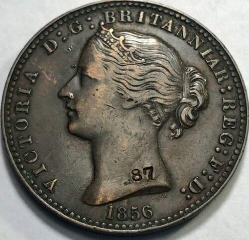 NOVA SCOTIA - Penny Token - 1856 L.C.W. - KM-6 - with Museum Counterstamp - XF