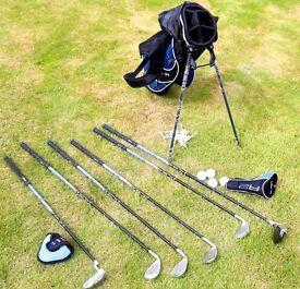 Junior JAXX Golf Club Set including bag