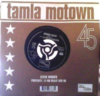 """Stevie Wonder positivity vinyl 7"""" reissue"""