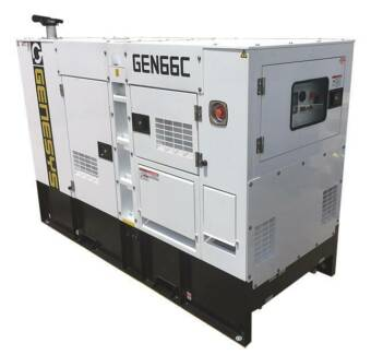 66 KVA Diesel Generator 415V - Cummins - Solar / Farmers / sites