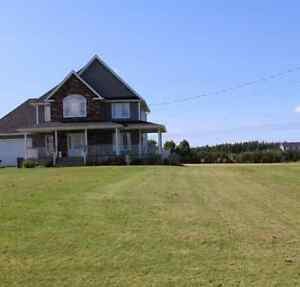 Executive New Country House Rental just outside city limits