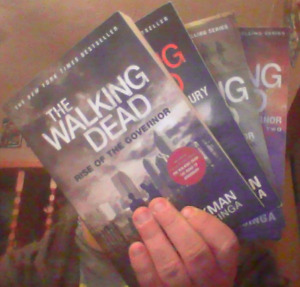 4 Walking Dead Books For Sale Or Trade!