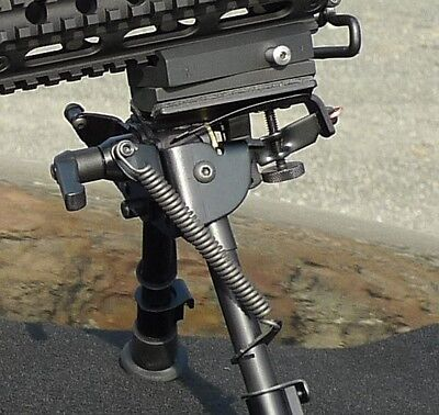 Harris Bipods   Hblms Combo Includes Hblms Bipod  Rba 1 Adapter And The  S  Lock