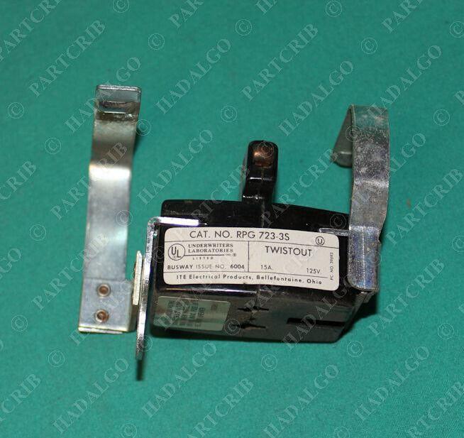 Siemens, Rpg 723-3s, Twistout Plug 15a 125v