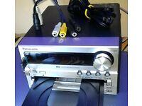 PANASONIC micro Hi-Fi. AM/FM Tuner + USB + CD + MP3 + minijack AUX-IN. very reliable VGC
