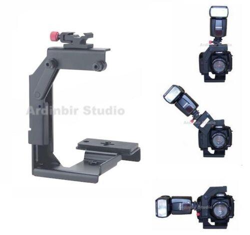 Camera Flip Bracket for Speedlite Speedlight Flash