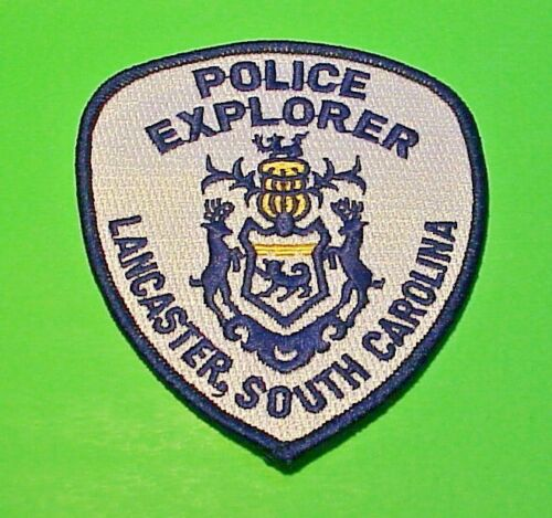 "LANCASTER  SOUTH CAROLINA  SC  ( EXPLORER )  POLICE PATCH  4 1/4""  FREE SHIPPING"