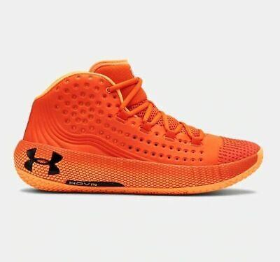 Mens Under Armour UA HOVR Havoc 2 Basketball Shoes Orange Black 3022050 800