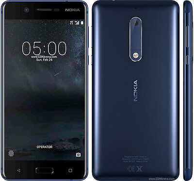DUMMY Nokia 5 BLUE TEMPERED  NON WORKING ANDROID DISPLAY MODEL PROP UK SELLER