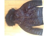 Girls puffa jacket excellent condition