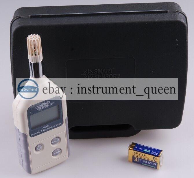 AR827 Digital Thermometer Hygrometer Humidity Temperature Meter AR-827