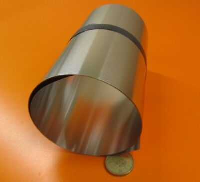 316 Stainless Steel Sheet Soft  .005 Thick X 6.0 Width X 50.0 Length