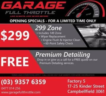 COMPLETE AUTOCARE - Garage Full Throttle