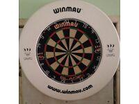 Winmau Dartboard and Surround