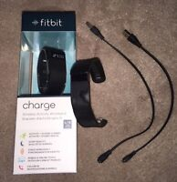 Brand new FitBit Charge plus extras