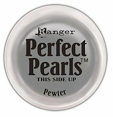 Ranger - Perfect Pearls Pigment Powder - Pewter - Silver -