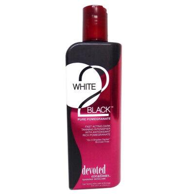 - Devoted Creations White 2 Black PURE POMEGRANATE 8.5 oz
