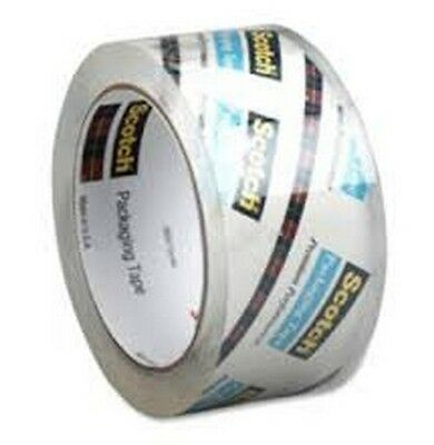 Scotch Heavy Duty Shipping Packaging Tape 1 Roll Clear 1.88 In 54.6 Yard