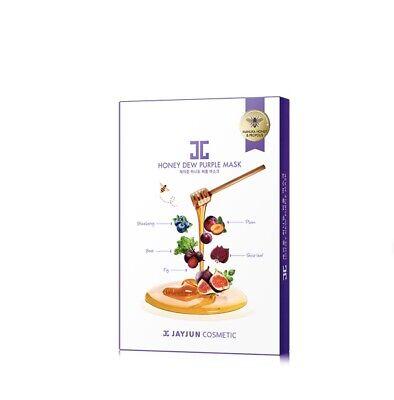 JAYJUN Honey Dew Purple Mask Pack of 5*  25ml - Made in Korea