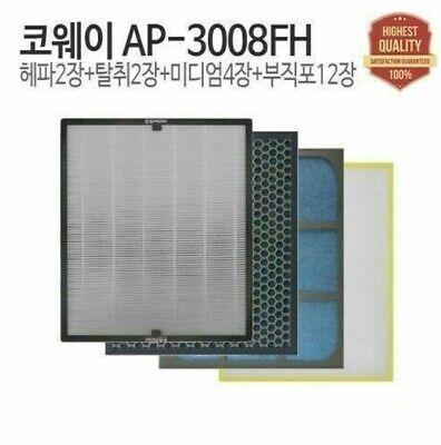 Sale Filtertech Compatible Replacement Air Filter Set COWAY AP-3008FH  M