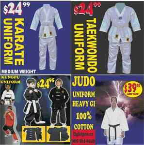 KARATE UNIFORM, MEDIUM WEIGHT (905) 364-0440 WWW.FIGHTPRO.CA Cambridge Kitchener Area image 1
