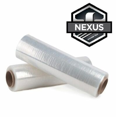 20 X 9000 Stretch Wrap 50 Gauge Nexus Machine Film Pallet Of 40 Rolls