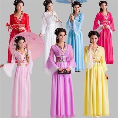 Chinese Ancient Dramaturgic Women kid's Costume Traditional Infanta Robe Dress  - Children's Chinese Dress