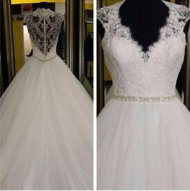 Allure 9162 Wedding Dress Ivory