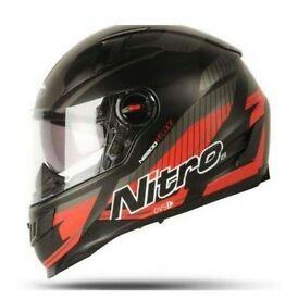 Brand New Nitro N2200 Motorcycle Helmet