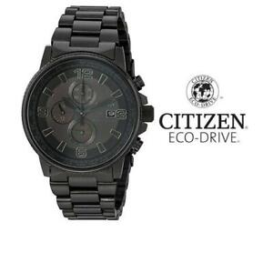 USED MENS CITIZEN ECO DRIVE WATCH CA0295-58E 242747854 JEWELLERY JEWELRY STAINLESS STEEL NIGHTHAWK